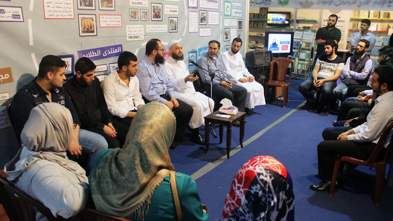 جمعية الاتحاد الإسلامي في معرض الكتاب – طرابلس