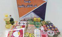 مؤسسة نماء: توزيع 100 طرد غذائي