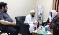 زيارة الشيخ ناصر العجمي للجمعية