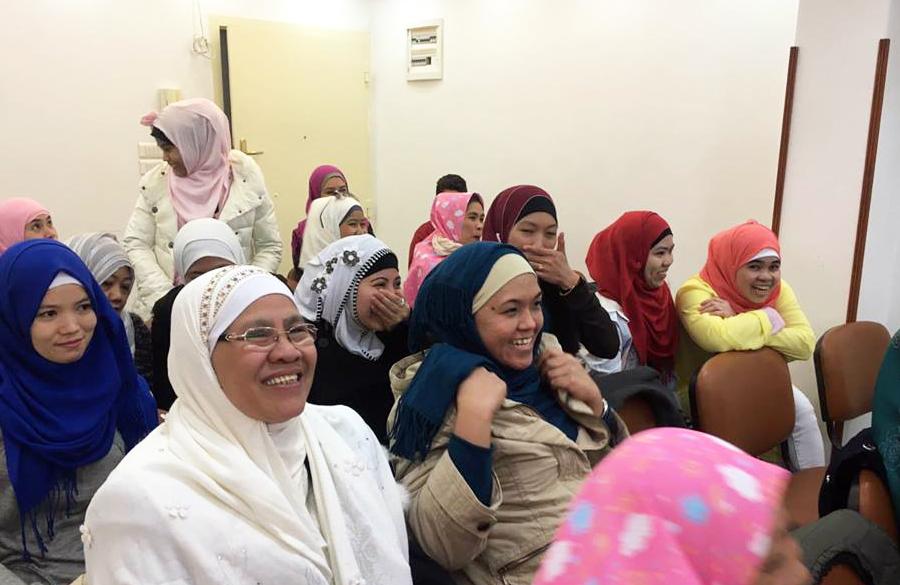 دعوة الجالية الفلبينية للإسلام