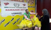 توزيع 275 وجبة ساخنة بالتعاون مع IHH