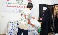 توزيع 200 طرد غذائي ضمن المرحلة الثالثة بالتعاون مع IHH