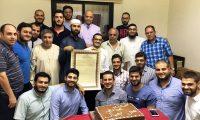 دار القرآن الكريم تجيز الأخ عمر جمال في بيروت