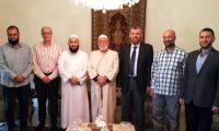 وفد من جمعية الاتحاد الإسلامي في زيارة لرئيس جمعية الإصلاح الإسلامية في طرابلس