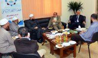 أمين عام الجماعة الإسلامية يزور جمعية الاتحاد الإسلامي ويلتقي رئيسها