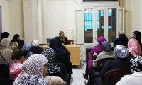 أسس التربية للأبناء على النهج النبوي الكريم – محاضرة للمستفيدات من مؤسسة نماء في طرابلس