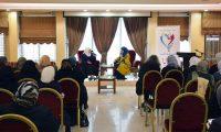 """""""حنايا"""" تكرّم د. نهى قاطرجي على جهودها في مجال نصرة قضايا المرأة المسلمة"""