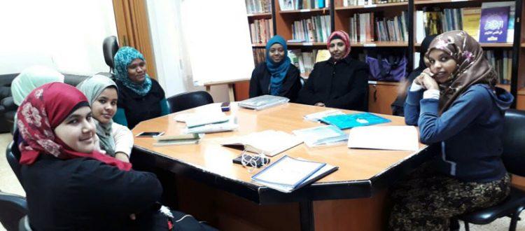 المنتدى للتعريف بالإسلام يطلق الدورة الشرعية للمهتديات الإثيوبيات | المستوى الثالث في مركز المنتدى - بيروت - الحمرا