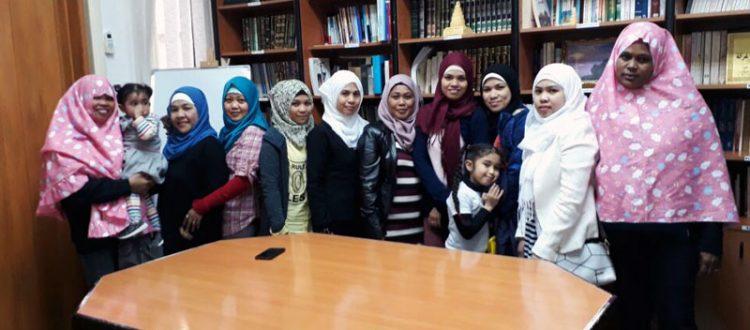 المنتدى للتعريف بالإسلام يطلق الدورة الشرعية للمهتديات الفلبينيات | المستوى الرابع في مركز المنتدى - بيروت - الحمرا