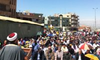 مسؤول الجمعية في البقاع يخطب الجمعة بالمعتصمين المطالبين بالعفو العام