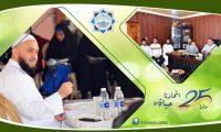 وفد من جمعية الاتحاد الإسلامي في زيارة إلى بلدة البيرة – عكار