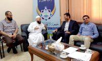 عطايا يزور جمعية الاتحاد الإسلامي: تحرير فلسطين ومواجهة صفقة القرن فريضة إسلامية
