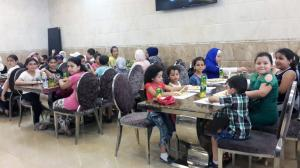 النشاط الترفيهي الأول لطالبات جيل القرآن في طرابلس-003