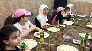 النشاط الترفيهي الأول لطالبات جيل القرآن في طرابلس-005