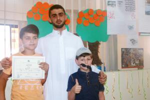 الحفل الختامي لدورة جيل القرآن - ذكور في مركز الفضيلة-008