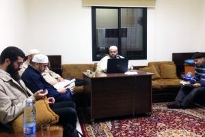اللقاء الأول لمجلس قرّاء الشام في دار القرآن الكريم-002