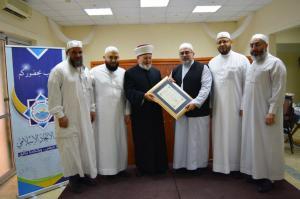 دار القرآن الكريم في لبنان تكرّم د. عادل أبو شعر على هامش ملتقى حفاظ الوحي (2)-0008