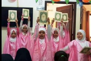 تكريم الأخت الحافظة عائشة معرباني في دار القرآن الكريم - الفضيلة-001