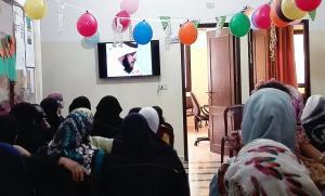 تكريم الأخت الحافظة عائشة معرباني في دار القرآن الكريم - الفضيلة-003