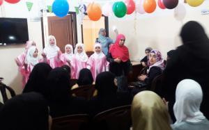 تكريم الأخت الحافظة عائشة معرباني في دار القرآن الكريم - الفضيلة-005
