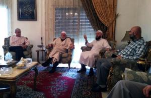 وفد من جمعية الاتحاد الإسلامي في زيارة لرئيس جمعية الإصلاح الإسلامية في طرابلس-002