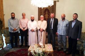 وفد من جمعية الاتحاد الإسلامي في زيارة لرئيس جمعية الإصلاح الإسلامية في طرابلس-003