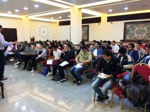 المنتدى الشبابي: دورة في مادتَي الاجتماع والاقتصاد لطلاب الشهادة الثانوية في بيروت