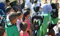 جولة على مخيمات النازحين في البقاع وتقديم المساعدات بالتعاون مع IHH