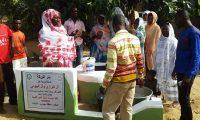 مؤسسة نماء: بئر البركة – غانا، صدقة جارية عن آل البرازي وآل البيومي