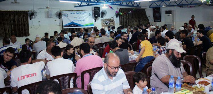 شراكة جديدة مع جمعية آيات الخيرية وأولى ثمارها تفطير 200 صائم في طرابلس