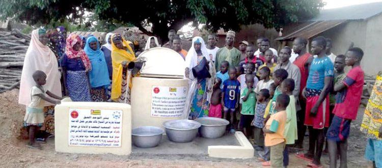 """مؤسسة نماء: حفر بئر """"الوعد الحق"""" في دولة توغو – إفريقيا"""