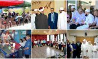 استقبال وفود المهنئين بعيد الفطر في بيروت والمناطق