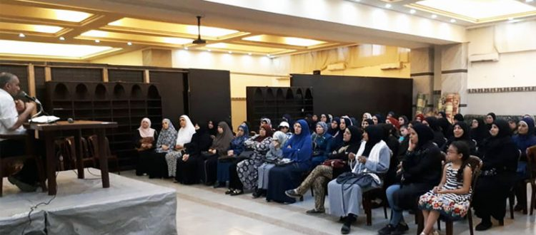 صيام القلب.. محاضرة لعائلات مؤسسة نماء في طرابلس