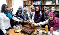 احتفال للمهتديات بمناسبة عيد الأضحى، في المنتدى للتعريف بالإسلام