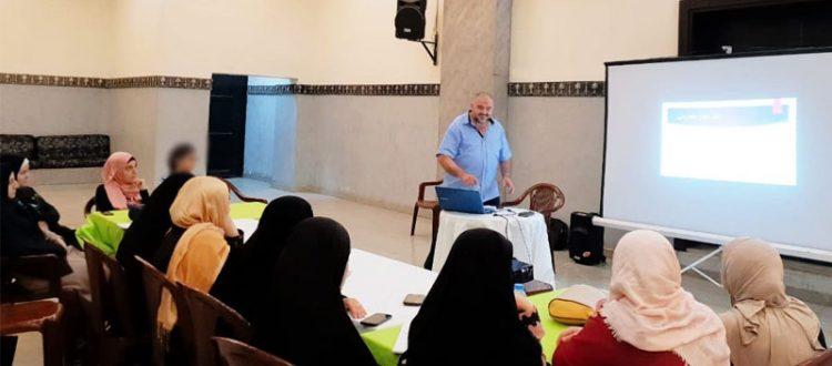 أنت غير.. دورة تدريبية لتطوير مهارات الشابات في طرابلس