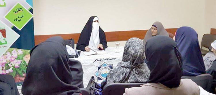فضل صلاة الجماعة.. محاضرة لعائلات مؤسسة نماء في طرابلس ألقتها الأخت الداعية جمانة كريم