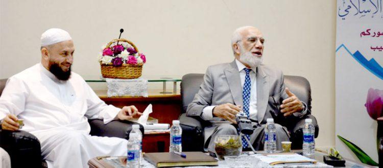 الداعية د. عمر عبد الكافي ضيفاً في جمعية الاتحاد الإسلامي