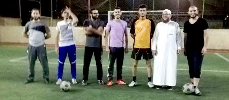 المنتدى الشبابي: مباراة كرة قدم في مجدل عنجر