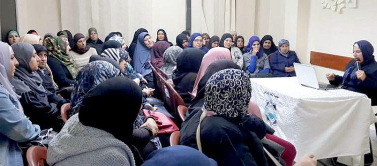 التربية بالعاطفة.. محاضرة لعائلات مؤسسة نماء في طرابلس ألقتها أ. هناء فاخوري