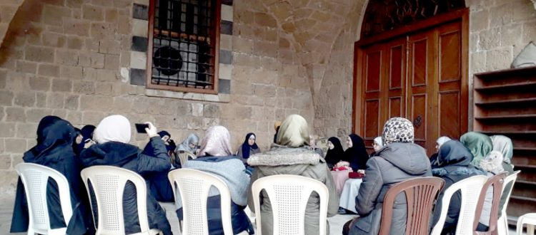 نزهة القلوب.. لقاء إيماني تعبدي للشابات في المسجد المنصوري الكبير - طرابلس