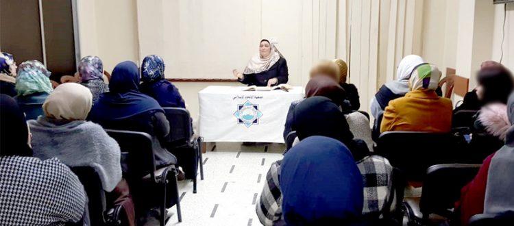 """مع الله.. محاضرة في جمعية الاتحاد الإسلامي- طرابلس ألقتها الأخت إيمان الأمين ضمن سلسلة لقاءات """"يحبّهم ويحبّونه"""""""
