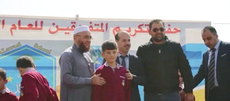 مسؤول الاتحاد الإسلامي في البقاع يشارك في حفل توزيع الشهادات في مدرسة الأوائل