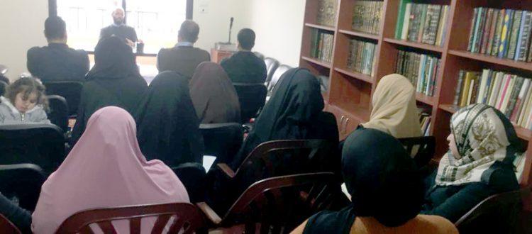 انطلاق الدورة الشرعية في شرح آيات الأحكام للشيخ الصابوني في مركز جمعية الاتحاد الإسلامي - عكار