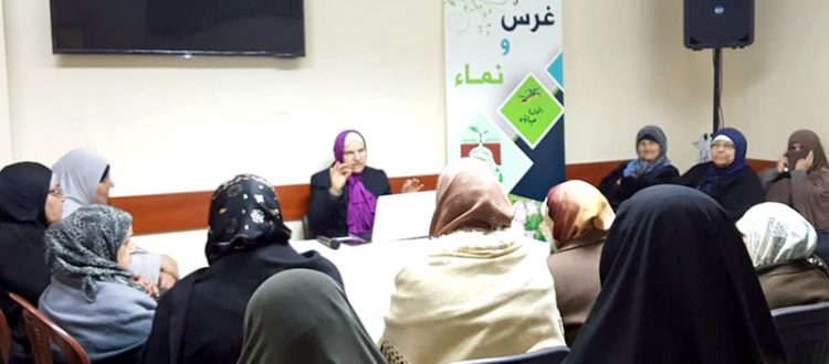 دور المرأة في الحياة.. محاضرة لعائلات مؤسسة نماء في طرابلس ألقتها أ. هناء فاخوري