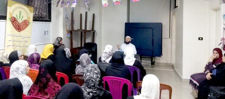 قطاف رمضان.. محاضرة للشيخ حسن قاطرجي في مخيم شاتيلا