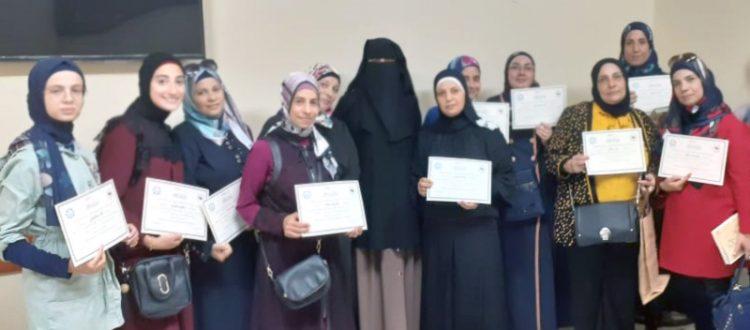 المنتدى الشبابي في طرابلس يختتم دورة