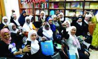 المنتدى للتعريف بالإسلام يحتفل مع المهتديات بقدوم عيد الأضحى