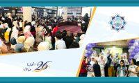 تكريم 5 حافظات و300 مشارك في الدورات الصيفية في مسجد خير النساء الهاشمي