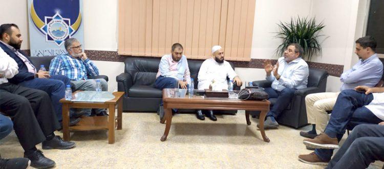 جمعية الاتحاد الإسلامي تستقبل الداعية المهندس فاضل سليمان في بيروت