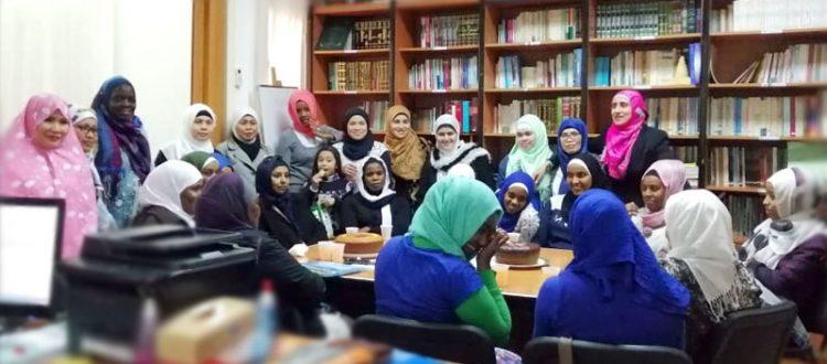 الدورة الشرعية السابعة للمهتديات في المنتدى للتعريف بالإسلام - بيروت